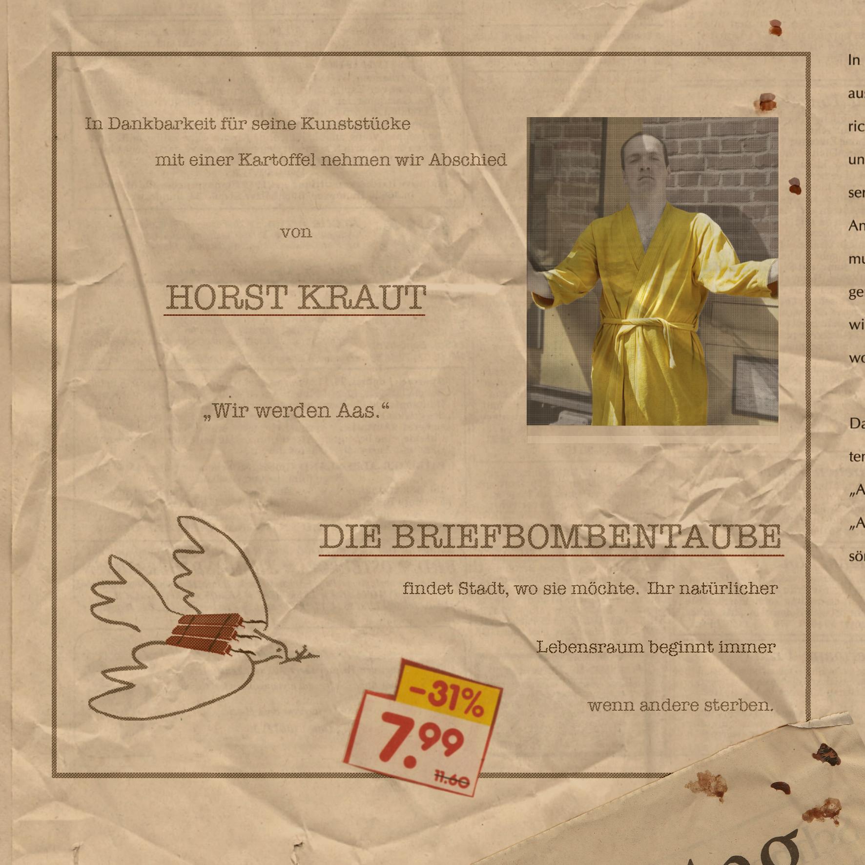 Die Briefbombentaube_Cover